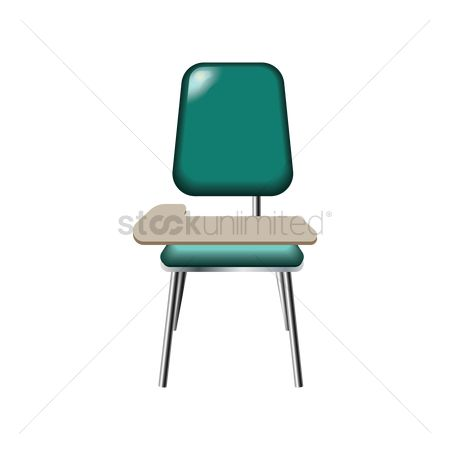 Lecture : School desk chair