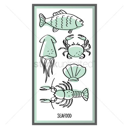 Claws : Seafood design