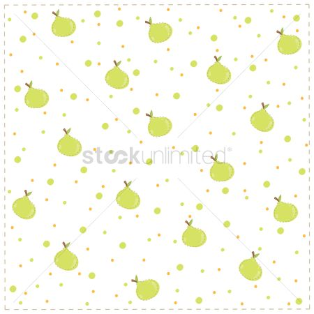 Background : Seamless background with guavas