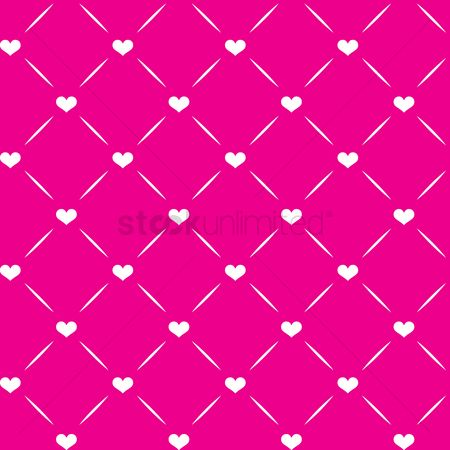 Heart shape : Seamless pattern