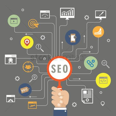 Setting : Search engine optimization concept
