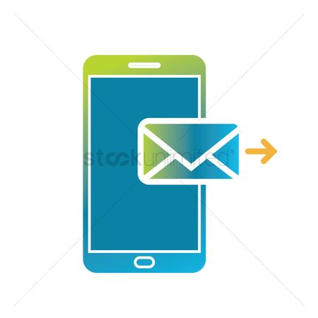 Interact : Send message icon