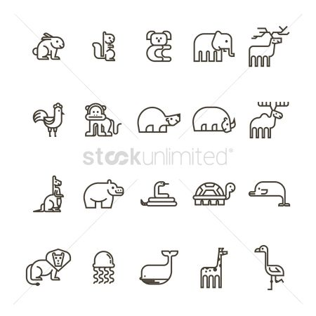 Linear : Set of animals