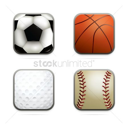 Baseball : Set of balls