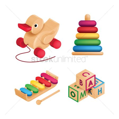 Duck : Set of children toys