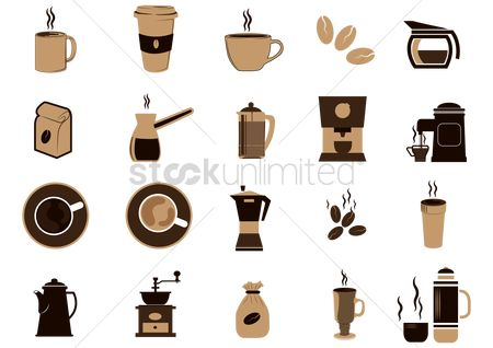 Makers : Set of coffee equipment