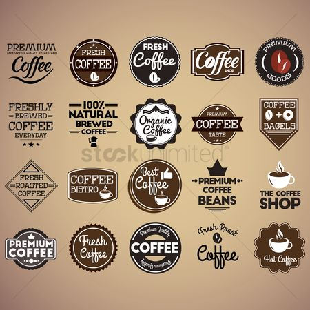 Crown : Set of coffee shop wallpapers