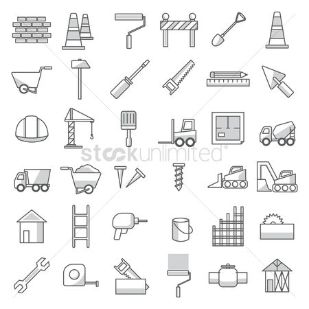 Cones : Set of construction tools