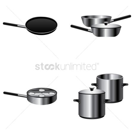 Cook : Set of cookware
