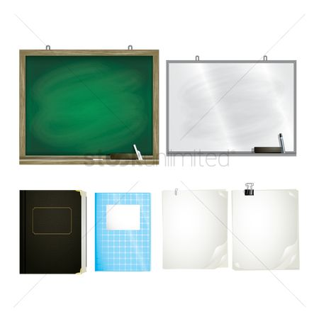 Notebooks : Set of educational supplies