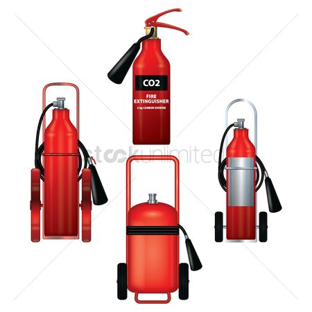 Fire extinguisher : Set of fire extinguisher