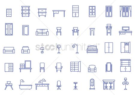 Tables : Set of furniture