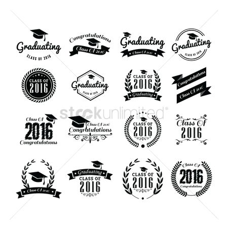 Laurel : Set of graduation labels