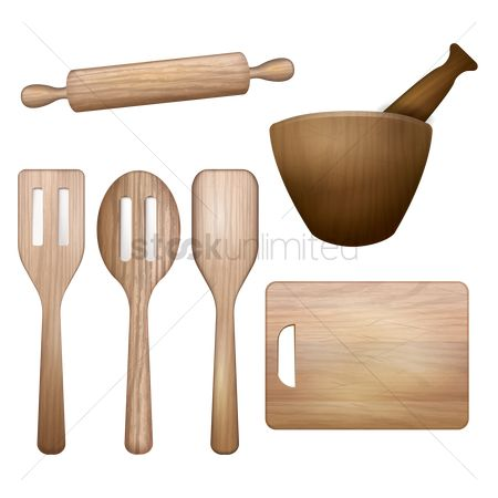 Roller : Set of kitchen equipments