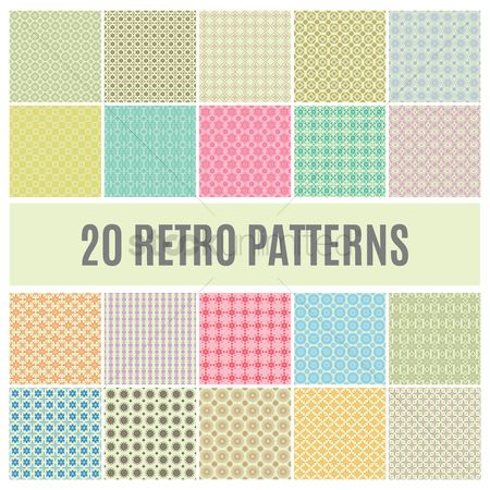 Backdrops : Set of pattern backgrounds