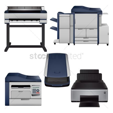 Devices : Set of printing equipment