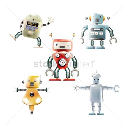 Machineries : Set of robots