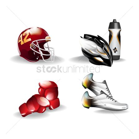 Activities : Set of sports icons