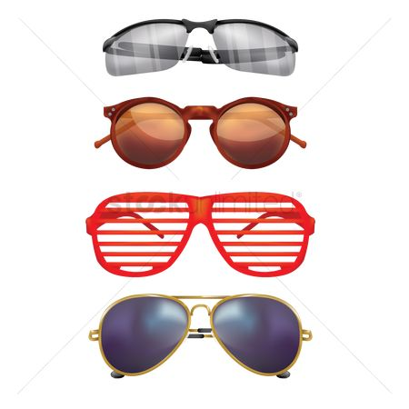 Trendy : Set of sunglasses