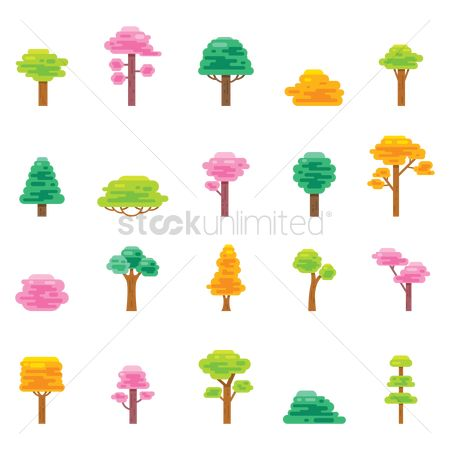 Pack : Set of trees