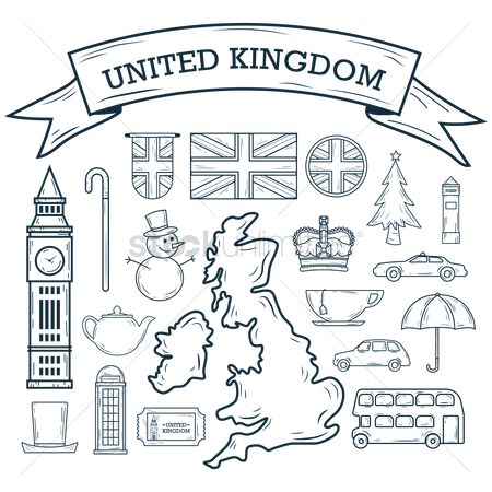 Teapot : Set of uk icons