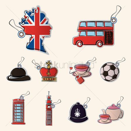 Teapot : Set of united kingdom icons