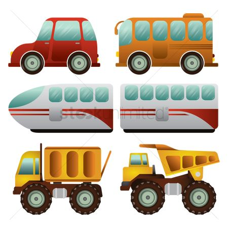 Mechanicals : Set of vehicles