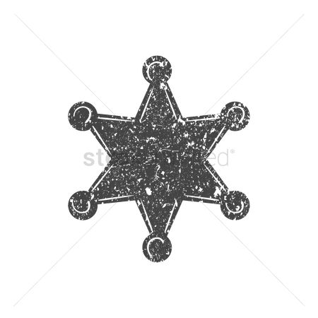 Authority : Sheriff star badge icon