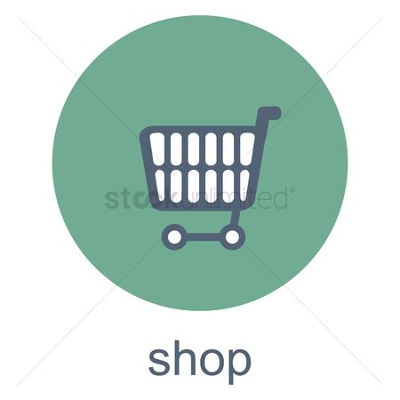 Online shopping : Shop button