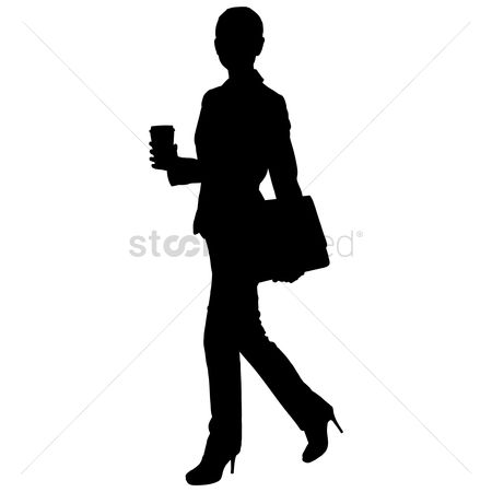 Posing : Silhouette of a woman