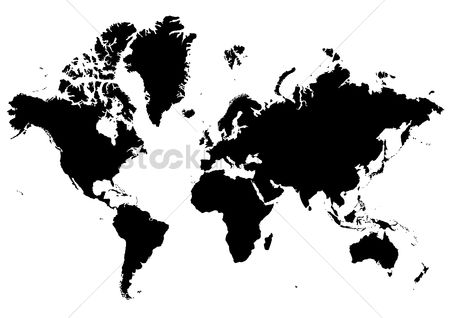 Free world map stock vectors stockunlimited 1515205 world map silhouette world map gumiabroncs