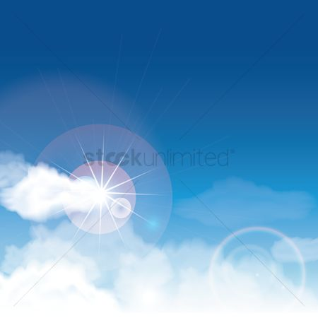 Sunray : Sky background