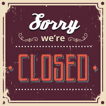 Market : Sorry we re closed wallpaper
