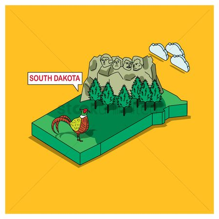 Dakota : South dakota state