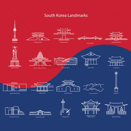 Towers : South korea landmarks