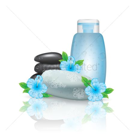 Zen : Spa bottle with pebbles