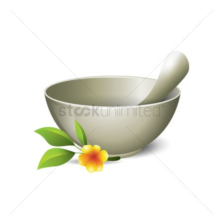 Zen : Spa mortar and pestle