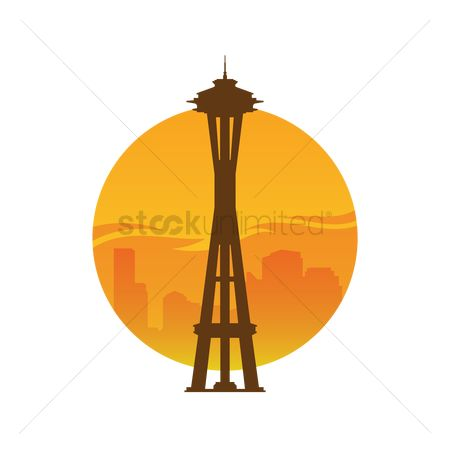 Needle : Space needle tower