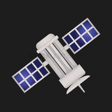 Broadcasting : Space satellite