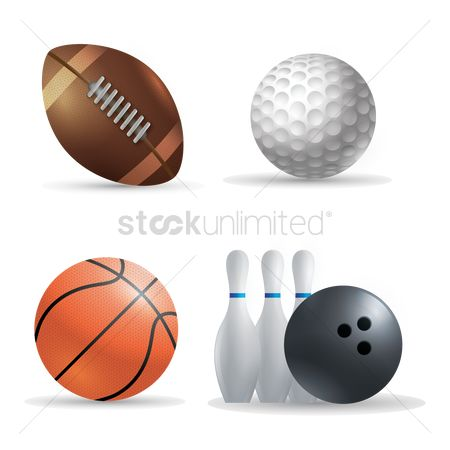 Rugby ball : Sports balls icons
