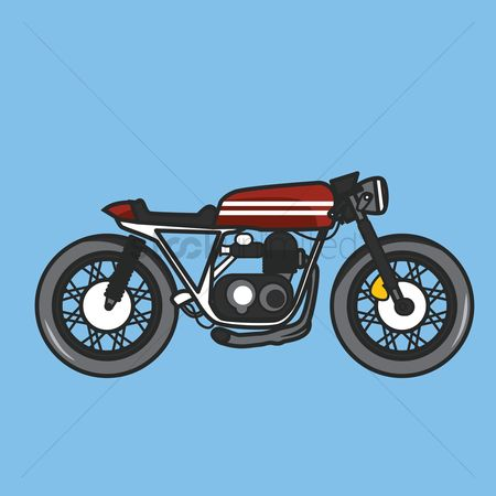 Motorcycles : Sports motorbike