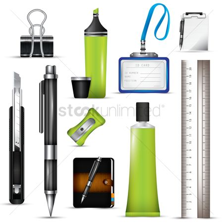 Products : Stationery set