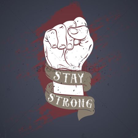 Fonts : Stay strong typography design