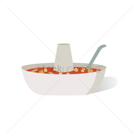 Steamboat : Steamboat with soup