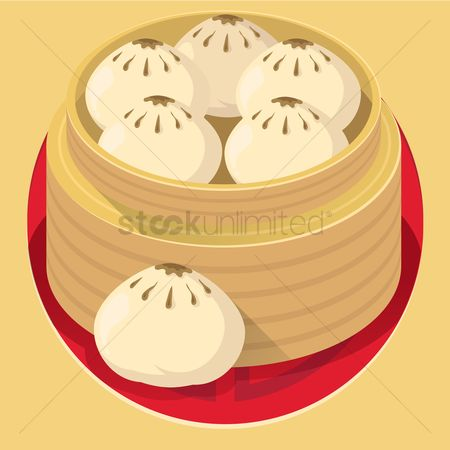 Dinner : Steamed bun