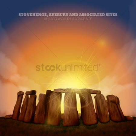 Tourist attractions : Stonehenge wallpaper