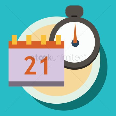 Minute : Stop watch with calendar