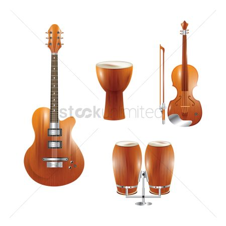 Drums : String and percussion instruments