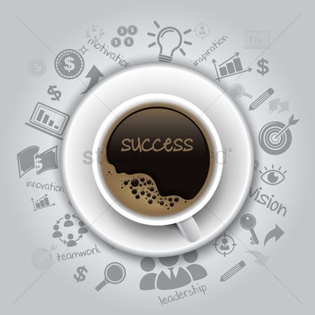 Motivation business : Success concept