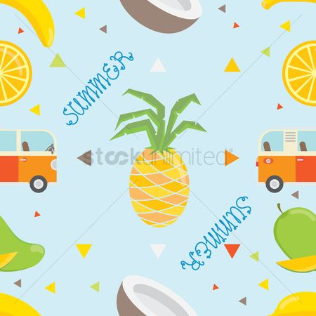 Mangoes : Summer background